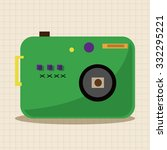 camera theme elements vector eps | Shutterstock .eps vector #332295221