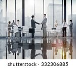 business people board room... | Shutterstock . vector #332306885