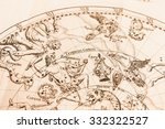 elestial view of the antique | Shutterstock . vector #332322527