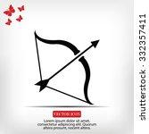 cupid icon   Shutterstock .eps vector #332357411