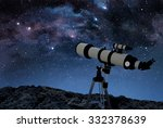 Telescope On Rocky Ground...