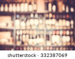blurred background with... | Shutterstock . vector #332387069