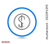 money icon  vector illustration....