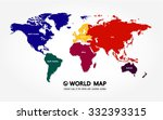 world map | Shutterstock .eps vector #332393315