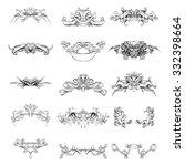 drawing hand vintage frame...   Shutterstock .eps vector #332398664