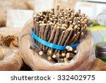 licorice sticks packed street...   Shutterstock . vector #332402975