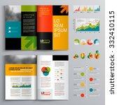 business brochure template... | Shutterstock .eps vector #332410115