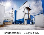 office space in the factory... | Shutterstock . vector #332415437