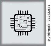 Circuit Board  Technology Icon...