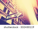vintage style photo of the one...   Shutterstock . vector #332430119