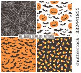 set of backgrounds in the style ... | Shutterstock .eps vector #332441855