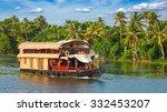 Panorama Of Tourist Houseboat...
