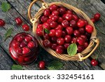 Cherry Jam  Cherry  Basket   ...