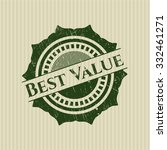 best value rubber stamp with... | Shutterstock .eps vector #332461271