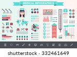 vector medical  health care ... | Shutterstock .eps vector #332461649