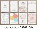 corporate identity vector... | Shutterstock .eps vector #332471504
