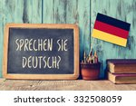 a chalkboard with the question... | Shutterstock . vector #332508059