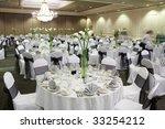 Fancy Wedding Reception Area...