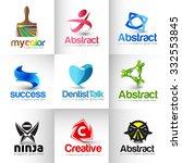 collection of vector logo design   Shutterstock .eps vector #332553845