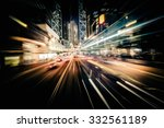 Abstract Cityscape Traffic Background Motion - Fine Art prints
