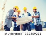 business  building  teamwork... | Shutterstock . vector #332569211