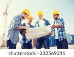 business  building  teamwork... | Shutterstock . vector #332569211