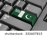 Enter Button With Pakistan Flag