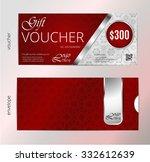 vector illustration gift luxury ... | Shutterstock .eps vector #332612639