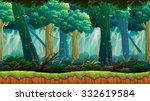 jungle game background | Shutterstock .eps vector #332619584