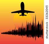 city break bitmap background | Shutterstock . vector #33262045