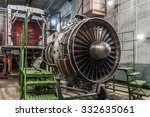 Airplane Gas Turbine Engine...