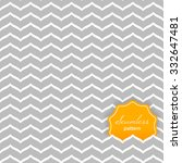 perfect seamless zig zag... | Shutterstock .eps vector #332647481