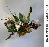 beautiful flower bouquet   Shutterstock . vector #332654795