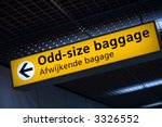 things and signs around leeds... | Shutterstock . vector #3326552