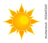 sun. vector illustration | Shutterstock .eps vector #332665265