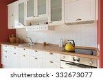 kitchen interior | Shutterstock . vector #332673077