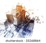 Abstract Generic City With...