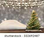 3d rendered christmas decoration | Shutterstock . vector #332692487