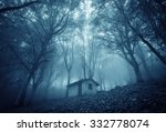abandoned haunted house in the... | Shutterstock . vector #332778074