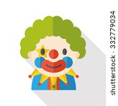clown flat icon | Shutterstock .eps vector #332779034