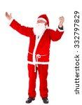 santa claus portrait. standing...   Shutterstock . vector #332797829