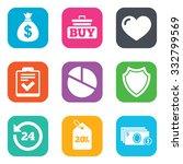 online shopping  e commerce and ... | Shutterstock .eps vector #332799569