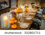 Halloween Theme Table With...
