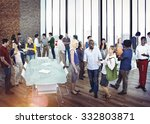 community business people... | Shutterstock . vector #332803871