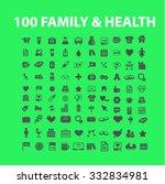 family health  medicine icons... | Shutterstock .eps vector #332834981