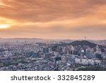 seoul city   south korea | Shutterstock . vector #332845289