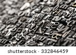 Letterpress Background  Close...