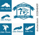 Great Lakes Outlines And Logo