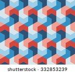 Vector Seamless Hexagonal Shap...