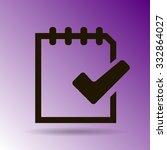document vector icon | Shutterstock .eps vector #332864027